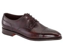 Hochwertiger Derby-Schuh mit Lyralochung
