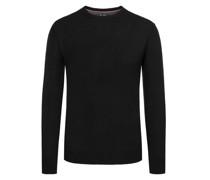Pullover im Merino-Mix, O-Neck