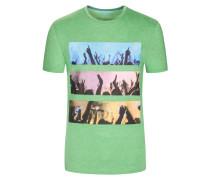 T-Shirt im Baumwollmix von Tom Made In Heaven in Gruen für Herren