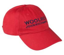 Sportliche Baseball-Cap von Woolrich in Rot für Herren
