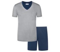 Schlafanzug, Sir, kurz von Novila in Marine für Herren
