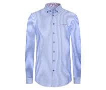 Gestreiftes Oxford-Freizeithemd von Tom in Blau für Herren