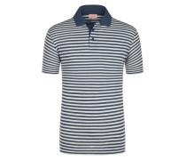 Poloshirt, Leinen-Mix von Armor-lux in Blau für Herren