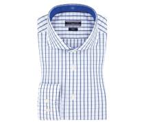 Businesshemd, Gitternetzkaro von Tommy Hilfiger in Blau für Herren