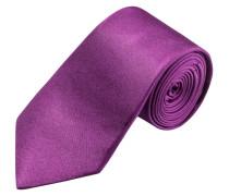 Modisch schmale Krawatte, uni von Olymp in Violett für Herren