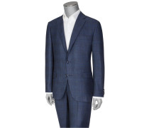 Exklusiver Businessanzug, Glencheck-Muster von Pal Zileri in Blau für Herren