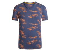 T-Shirt mit Allover-Print von Tom Made In Heaven in Marine für Herren