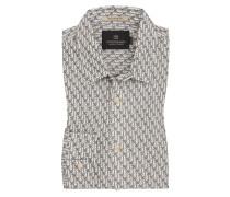 Freizeithemd mit Allover-Print von Scotch & Soda in Grau für Herren