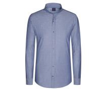 Aktuelles Freizeithemd mit Stehkragen von Tom in Blau für Herren