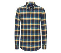 Aktuelles Flanellhemd aus 100% Baumwolle von Tom Rusborg in Gelb für Herren