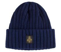 Warme Grob-Strick-Mütze von Refrigiwear in Marine für Herren