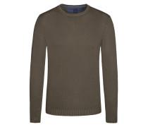Pullover, feine Struktur von Tom Rusborg in Braun für Herren