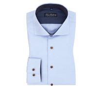 Bequemes Businesshemd aus 100% Baumwolle von Tom Rusborg in Hellblau für Herren
