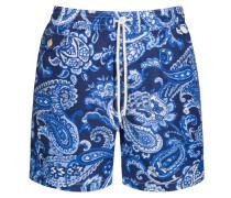 Badehose, Paisley-Muster von Polo Ralph Lauren in Blau für Herren