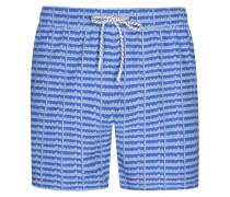 Lässige Badehose von Lacoste in Blau für Herren