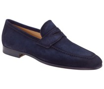 Loafer aus Velours-Leder