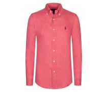 Freizeithemd mit Button-Down-Kragen, Slim Fit von Polo Ralph Lauren in Rot für Herren