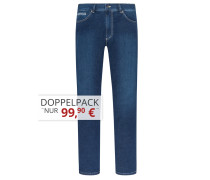 Jeans mit Stretchanteil von Tom Rusborg in M.blau für Herren