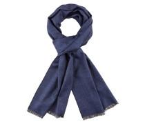Edler Glencheck Schal von Tom Rusborg in Blau für Herren