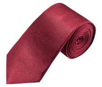 Modisch schmale Krawatte, uni von Olymp in Rot für Herren