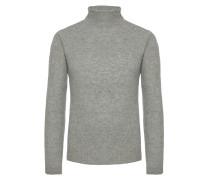 Kaschmir Rollkragenpullover von Tom Rusborg Premium in Silber für Herren