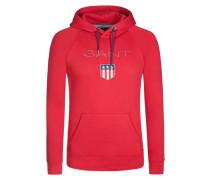 Bequemes Kapuzen-Sweatshirt von Gant in Rot für Herren