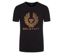 T-Shirt mit Label-Print von Belstaff in Schwarz für Herren