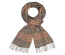 Schal im Glencheck-Muster