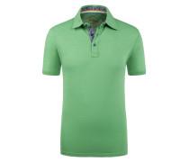 Poloshirt in Slub-Yarn-Optik von Tom Made In Heaven in Gruen für Herren