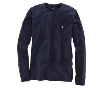 Langarm-Shirt in Marine für Herren