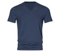T-Shirt, V-Neck von Mey in Marine für Herren