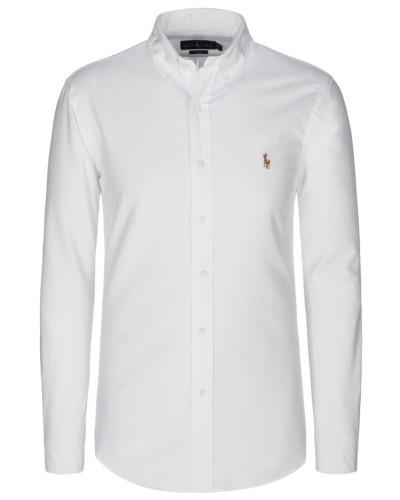 Oxfordhemd Slim Fit in Weiss
