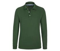Polo-Kragen Sweatshirt, Regular Fit von Tom Rusborg in Gruen für Herren