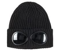 Strickmütze mit Brillengläsern von C.p. Company in Schwarz für Herren