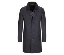 Mantel mit heraustrennbarer Nylonblende von Strellson in Anthrazit für Herren