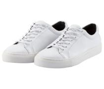 Schlichter Leder-Sneaker, Spartacus Base von Royal Republiq in Weiss für Herren