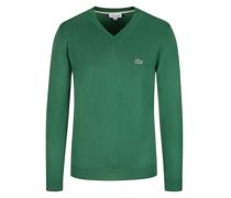 Pullover mit V-Ausschnitt, Classic Fit  Gruen