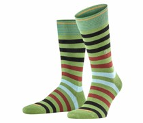 Socken mit Querstreifen