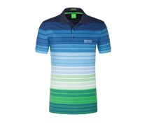 Aktuelles Poloshirt mit Stretchanteil, Modern Fit (Blau) von Boss Green