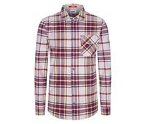 Flanellhemd mit Karo-Muster