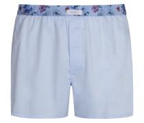 Exklusive Boxer-Shorts, Bund im Flower-Print von Van Laack in Mittelblau für Herren