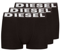 3er Pack Boxer Trunk in Schwarz