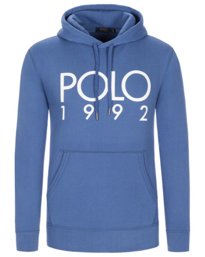 Sweatshirt mit Frontprint in Blau