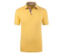 Poloshirt in Slub-Yarn-Optik von Tom Made In Heaven in Gelb für Herren