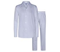 Pyjama von Novila in M.blau für Herren