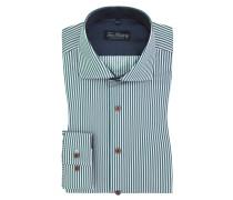 New-Kent-Kragen Businesshemd, Regular-Fit von Tom Rusborg in Gruen für Herren