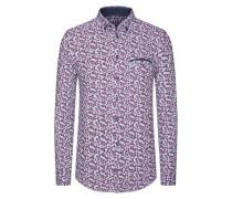 Freizeithemd, Flower-Print von Tom in Flieder für Herren