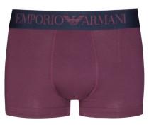 Retro-Boxershorts von Emporio Armani in Bordeaux für Herren