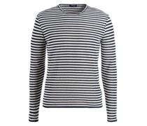 Pullover aus weichem Frottee-Stoff  Marine