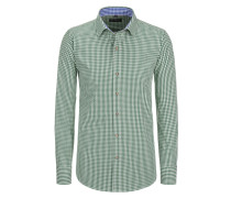 Trachtenhemd Regular Fit von Tom Rusborg in Gruen für Herren